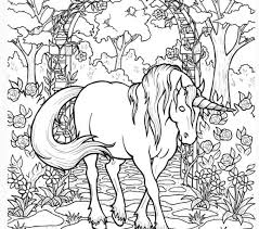 Unicorn Coloring Page Pages For Adults Only Tablynn To Download