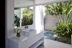 Open-air-bathroom | Interior Design Ideas. Small Master Bedroom With Open Bathroom Simple Home Decorating Ideas Black And White Bath Design Designs Toddler Industrial Loft Shift To Open Bathroom Design New York Fancy Idea 10 25 Incredible Shower 5 Latest Trends Look Out For Picthostnet Politics Aside New Move The Boundaries On Gender How The Best Ensuite For Your Gorgeous Luxury Resort Bathrooms Plan Interior Bed And Bath Decorating Ideas Master Bedroom Designs Undersink Storage Options Diy