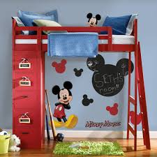 Mickey Mouse Bedroom Curtains by Extraordinary Ikea Kids Bedroom Design With White Bed Along Pink
