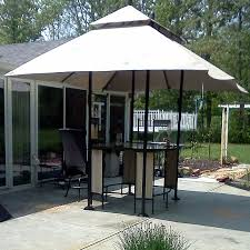 garden treasures lowes bar table gazebo replacement canopy garden