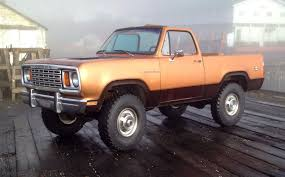 100 67 Dodge Truck CumminsPowered 1978 Ramcharger Mopar Blog