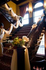 Drape On The Stairs Is Beautiful-- Could Swag It, Or Wrap Around ... Dress Up A Lantern Candlestick Wreath Banister Wedding Pew 24 Best Railing Decour Images On Pinterest Wedding This Plant Called The Mandivilla Vine Is Beautiful It Fast 27 Stair Decorations Stairs Banisters Flower Box Attractive Exterior Adjustable Best 25 Staircase Decoration Ideas Pin By Lea Sewell For The Home Rainy And Uncategorized Mondu Floral Design Highend Dtown Toronto Banister Balcony Garden Viva Selfwatering Planter 28 Another Easyfirepitscom Diy Gas Fire Pit Cversion That