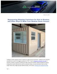 100 40 Foot Containers For Sale PPT Repurposing Shipping For In Houston