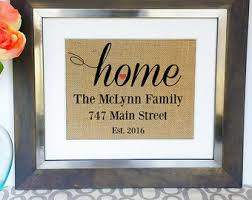 Personalized Housewarming Gift Best House Warming Gifts New Home Our First Welcome Ideas