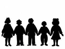 Free Photos Children Holding Hands Silhouette Search Download