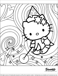 Hello Kitty Coloring Pages And Sheets Find Your Favorite Cartoon Picures In The Library
