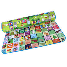 Round Bathroom Rugs Target by 200x180cm Doulble Side Baby Play Mats Fruit Alphabet Digital Game