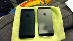 iPhone 5 iPhone 5S side by side iphone