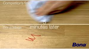 Bona Wood Floor Polish Matte by A Visual Comparison Bona Mega Vs Competitor Youtube