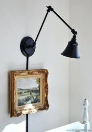 wall mount light fixture with cord the painted hive a desk l