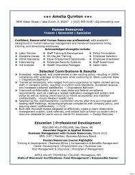 Cover Letter Hr Manager Resume This Is Best Human Resources