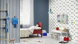 tapete papier einfarbig uni rasch blau 247480 kaufland de
