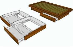 twin bed frame wood plans frame decorations