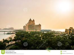 100 Water Hotel Dubai United Arab Emirates February 24 2018 Atlantis