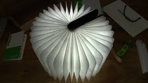 Lumio Book Lamp Walnut by Granvela Greeno Walnut Book Light Youtube