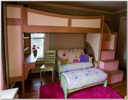Ikea Loft Bed With Desk Canada by Bunk Bed With Sofa Imanada Beds Desk And Home Furniture Design
