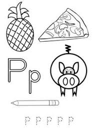 Nice Looking 23 Letter P Words Coloring Pages