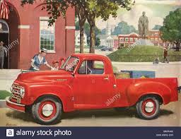 100 1953 Studebaker Truck Pickup Stock Photo 184278547 Alamy