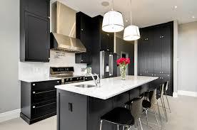 White Black Kitchen Design Ideas by Black And White Kitchen Design Ideas Realizing A Black Kitchen