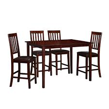 polyurethane faux leather solid red amish kmart kitchen table and