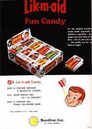1963 Poisoned Halloween Candy by Fun Dip And Lik M Aid U2013 A Powdery Sugar Filled Retrospective