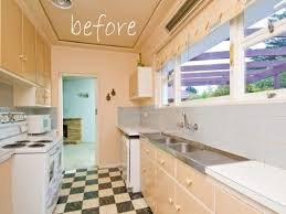 Attractive Remodelaholic Classically Beautiful Galley Kitchen Before And After On