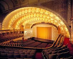 oriental theatre chicago seating
