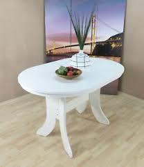 details zu auszugtisch oval weiß matt esstisch esszimmertisch küchentisch ausziehbar neu