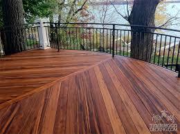Wood Decking Boards by Tigerwood Decking Pros Cons U2014 Jen U0026 Joes Design