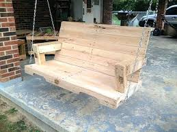 Wooden Porch Swing Plans Pallet Swing Plans Chair Bed Bench