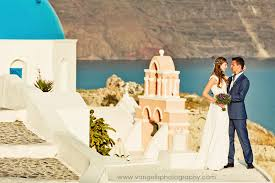 Intimate Wedding At Aenaon Villas Santorini Venue