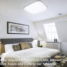 karpal 24w led deckenleuchte 6500k kaltweiss 2160lm led deckenle ip44 badleuchte hell wohnzimmer le schlafzimmerle