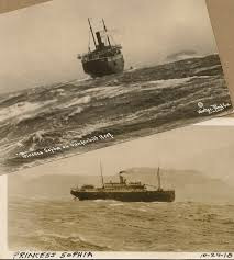 James Horner The Sinking by Saltwater People Log The Sinking Of The Princess Sophia 1918