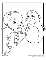 Doc Mcstuffins Coloring Sheets