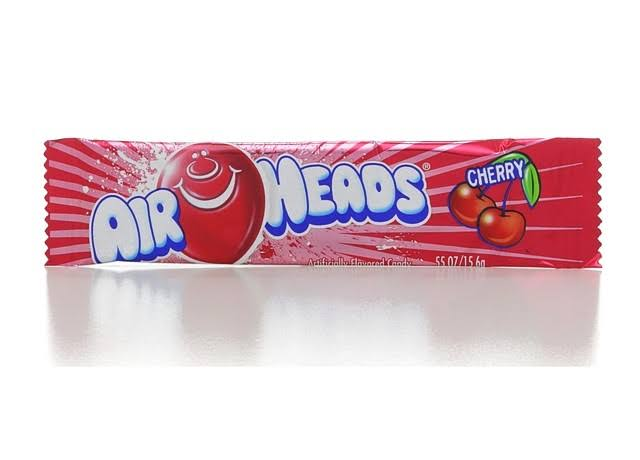 Air Heads Candy - Cherry, 16g