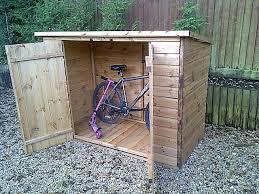 Garage Bike Storage Redwood Ideas Save Your Bike Safely Bike