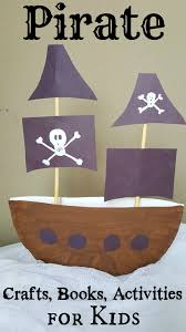 100 Design A Pirate Ship Paper Plate Craft 3D Project For Kids 3rd Birthday