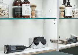 l s doppelsteckdose für spiegelschränke zweifach steckdose
