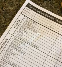 how you document your charitable donations matters to the irs