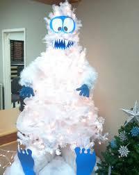 Christmas Tree Decorating Ideas Abominable Snowman