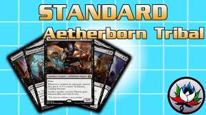 mtg deck standard mtg mono black aetherborn tribal 30 budget standard deck tech