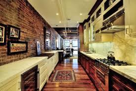 25 Stylish Galley Kitchen Designs D