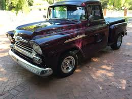 1958 Chevy Short Bed Step Side 1/2 Ton 3100 Pick Up Truck | The H.A.M.B.