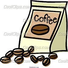 Beans Clipart Coffee Bean Bag 1