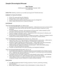 Sample Security Resume Cover Letter For