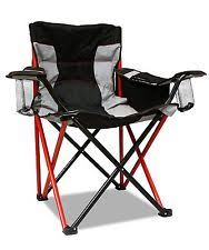 Coleman Camping Oversized Quad Chair With Cooler by Heavy Duty Camping Chair Ebay