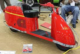 1946 Salsbury Model 85 Imperial Rocket Motor Scooter