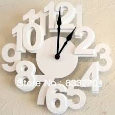 Get Quotations Modern Design New 2013 Creative Digital Wall Clock Safe Home Decor Unique Gift Decoration