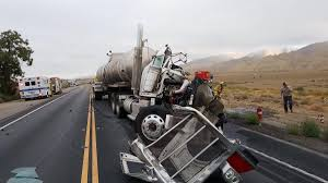 100 Rts Trucking Driver Identified In Hwy 166 Crash Of 5 Bigrigs Local News
