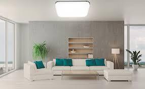 hengda 48w led deckenleuchte 4320lm led deckenle ersetzt 200w glühle schutzart ip44 für wohnzimmer schlafzimmer kinderzimmer badezimmer